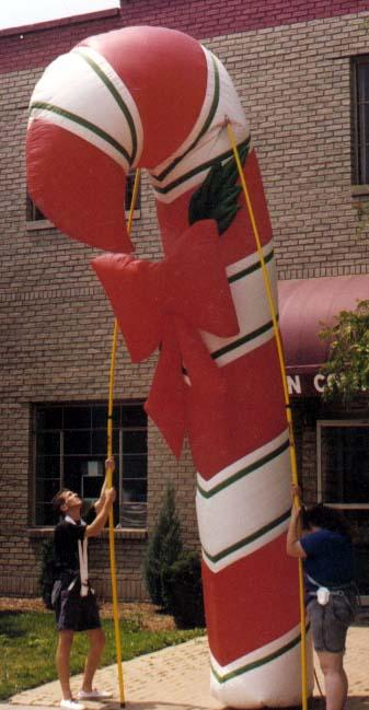 Candy Cane Pole Unit, 18'