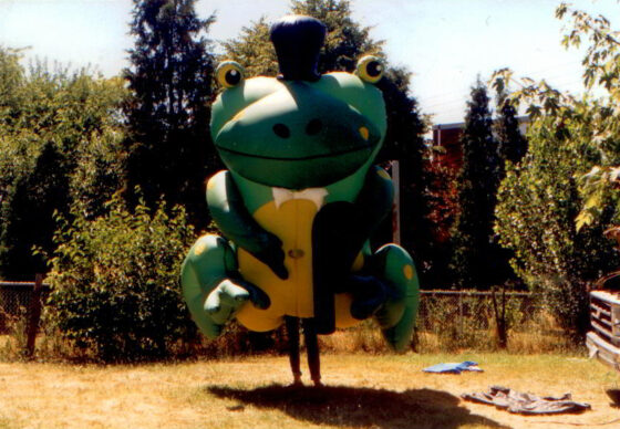 Classic Frog Inflatable Costume