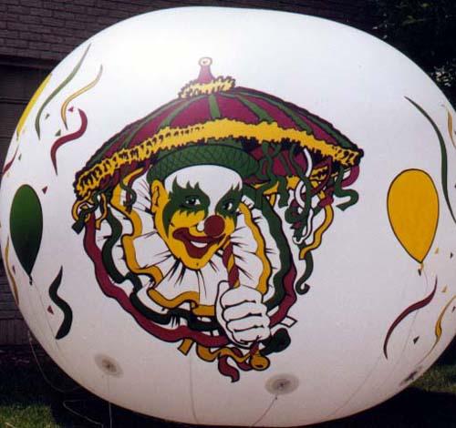 Spheres Circus Clown Parade Balloon