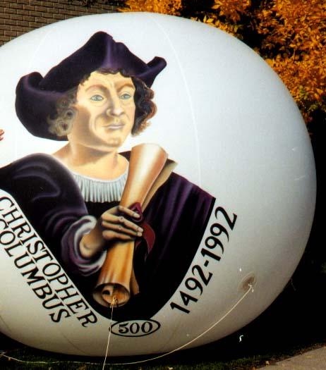 Christopher Columbus Parade Balloon