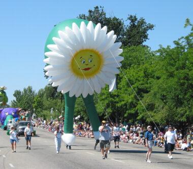 Daisy Flower Parade Balloon