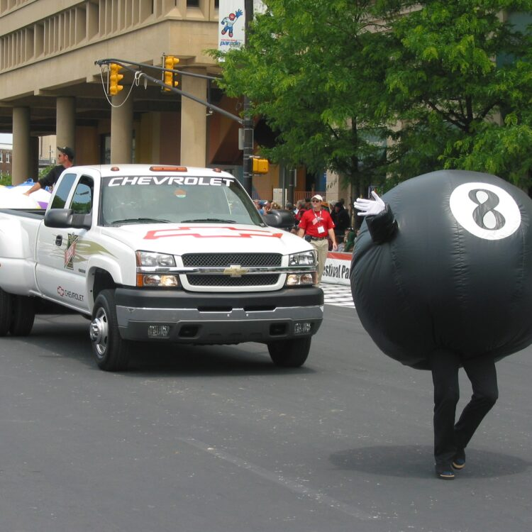 Eight Ball Inflatable Costume
