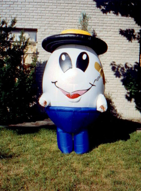 Humpty Dumpty Inflatable Costume