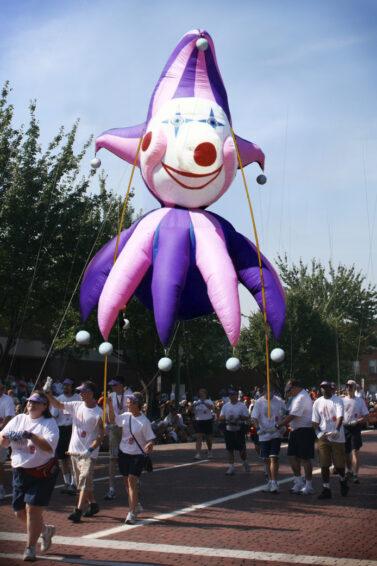 Jester Head Pole Unit, Parade Balloon