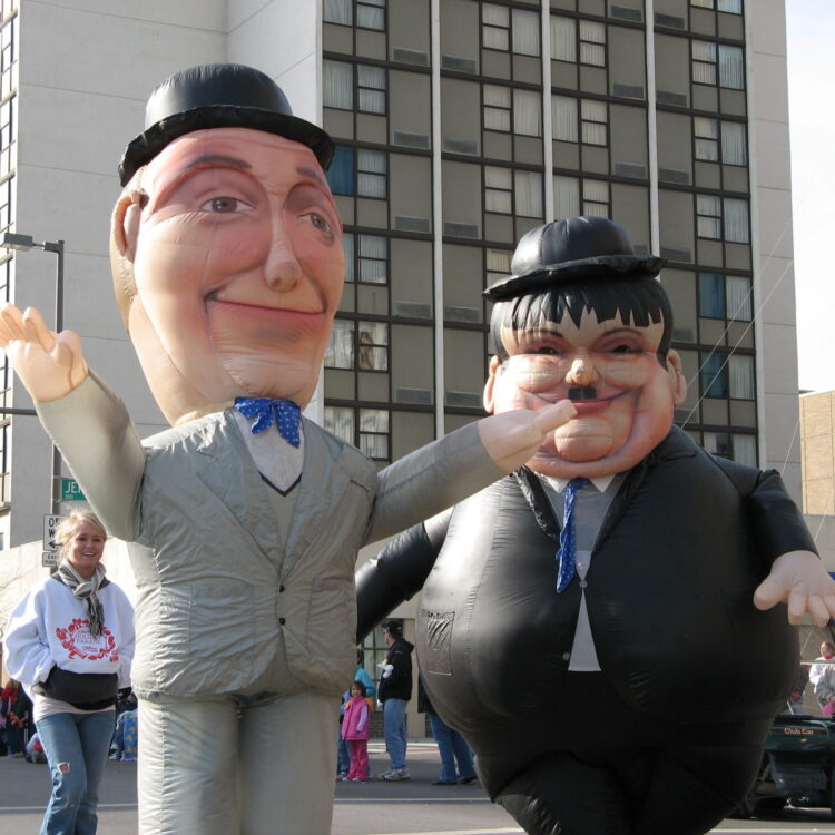 Laurel & Hardy Inflatable Costume