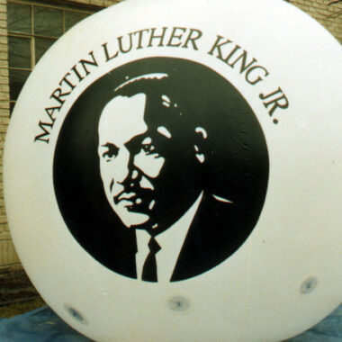 Martin Luther King Parade Balloon