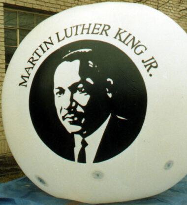 Martin Luther King Parade Balloon