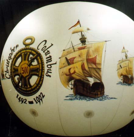 Spheres Three Ships Parade Balloon, 10'