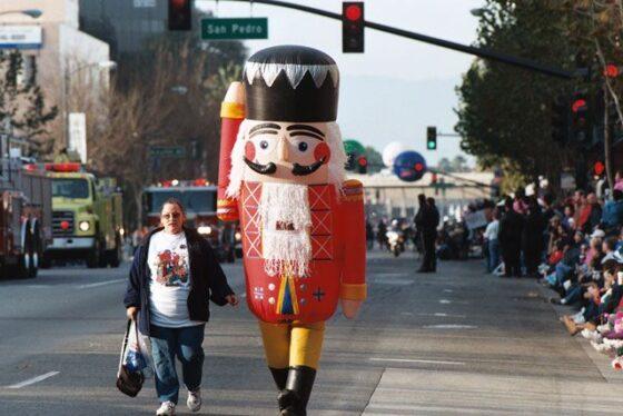 Nutcracker Inflatable Costume