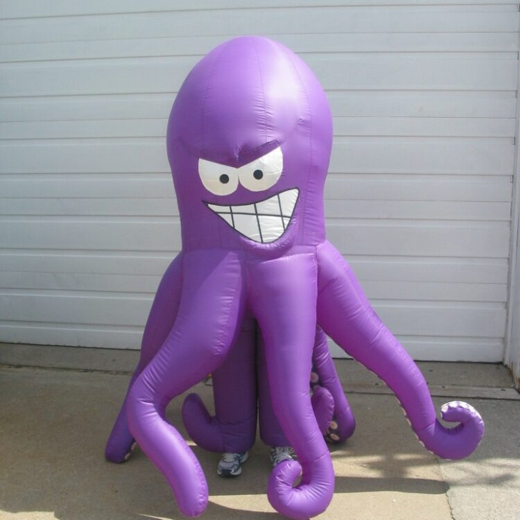 Octopus Inflatable Costume