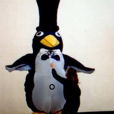 Penguin Inflatable Costume