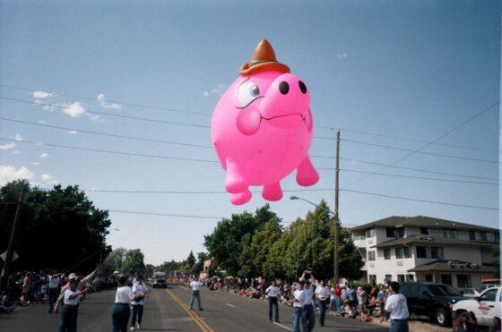 Piggy Bank Parade Balloon