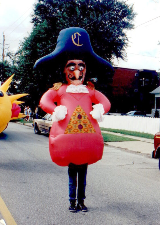 Pirate Inflatable Costume