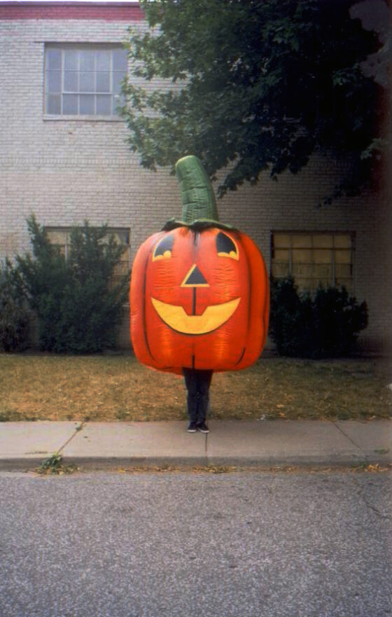 Pumpkin Inflatable Costume (Jack O' Lantern)