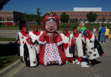 Playing Cards Costume Set (Alice in Wonderland)