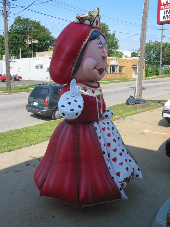 Queen of Hearts Costume (Alice in Wonderland)