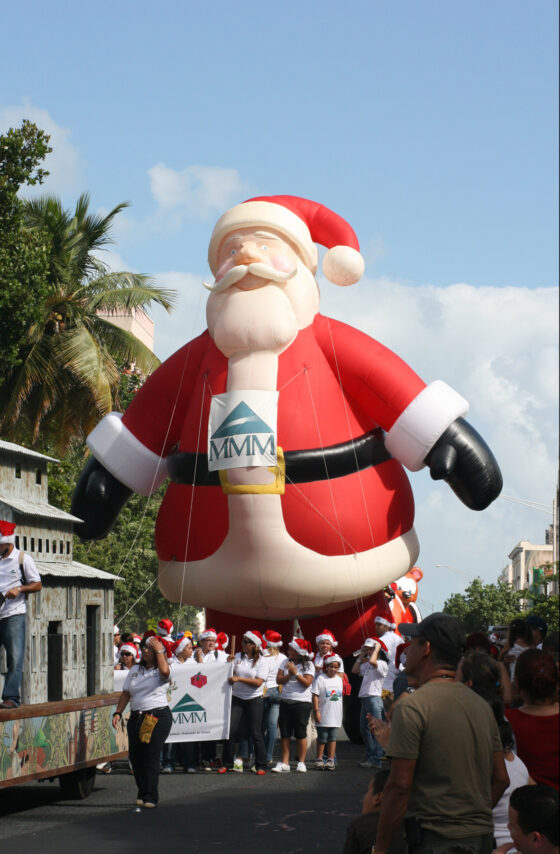 Santa Parade Balloon (Jingle all the Way)