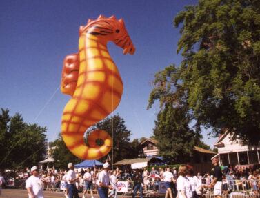 Seahorse Parade Balloon