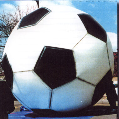 Soccer Ball Parade Balloon, 10'