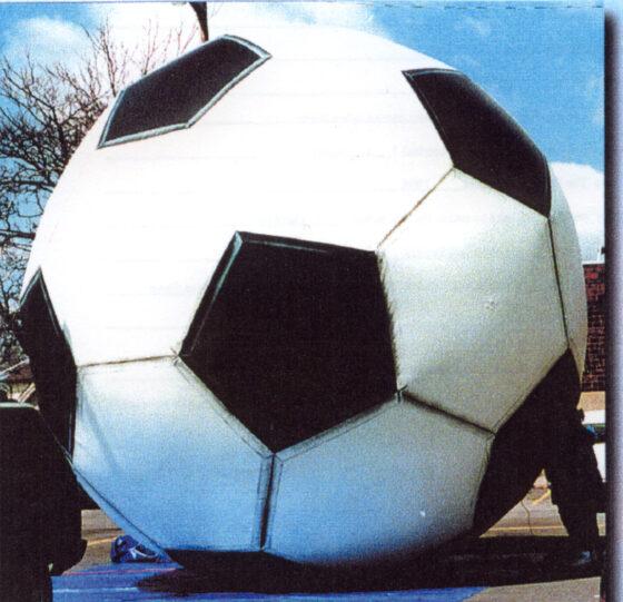 Soccer Ball Parade Balloon, 10'
