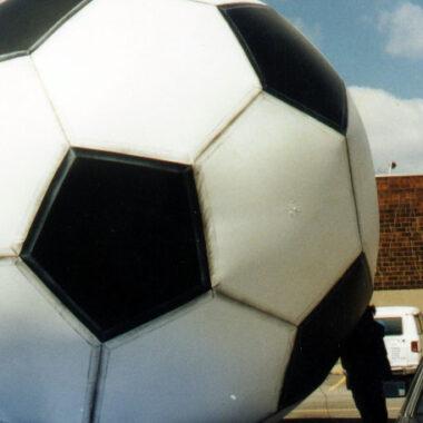 Soccer Ball Large Parade Balloon, 14'