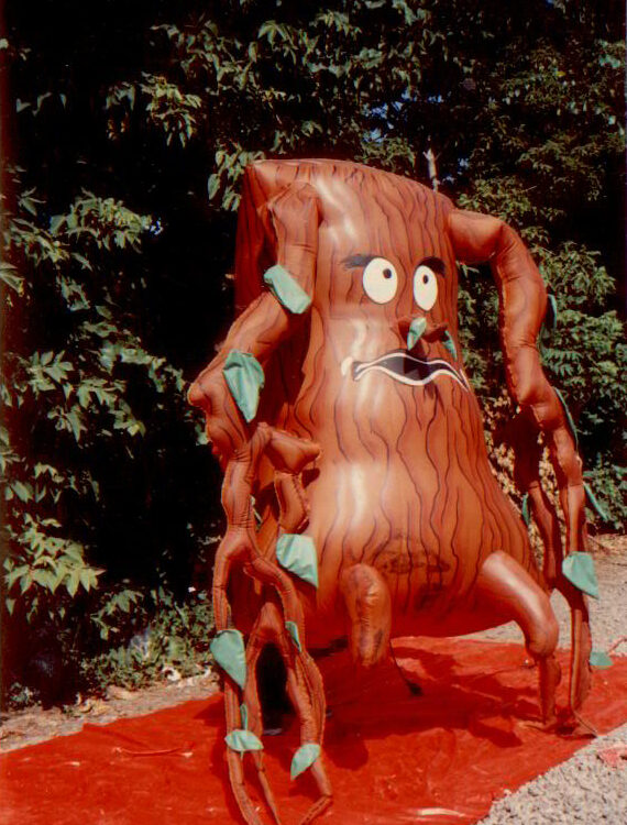 Spooky Tree Inflatable Costume