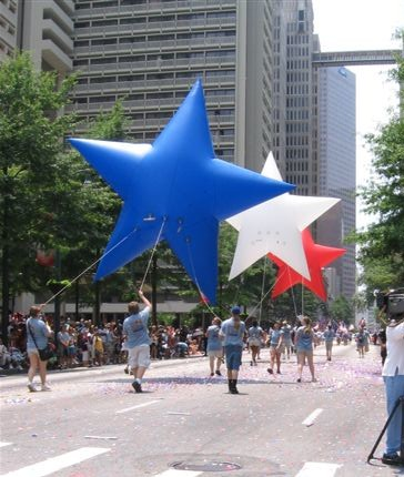 Stars Patriotic Parade Balloon, 13'
