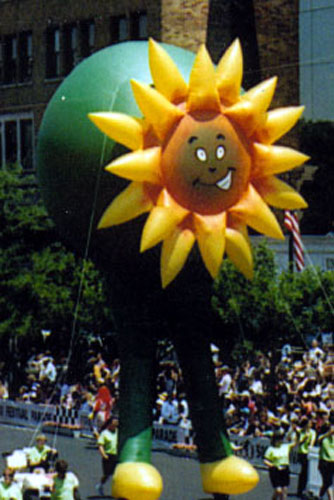 Sunny Flower Parade Balloon