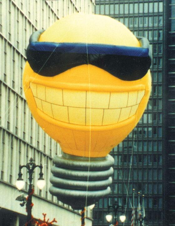 Sunny Light Bulb Parade Balloon