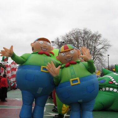 Tweedle Dee/Dum Inflatable Costumes
