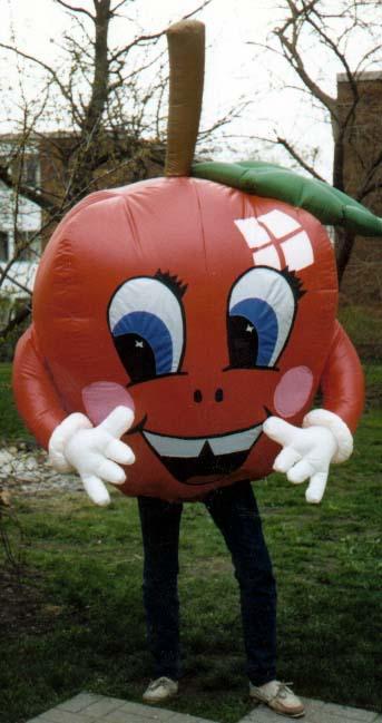 Apple Inflatable Costume