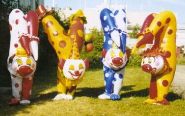 Upside-Down Clown Set