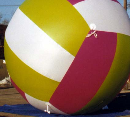 Volley Ball Parade Balloon, 10'
