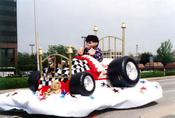 Race Car Bed Float (Zero to Sixty)
