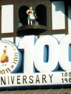 100th Anniversary Sign Inflatable