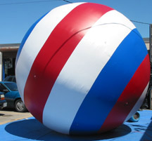 Patriotic Ball Parade Balloon