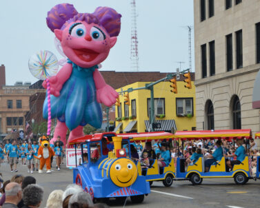 Abby Cadabby Parade Balloon