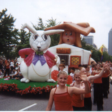 Alice Wonderland Parade Float