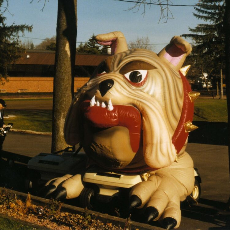 Bulldog Mini Parade Float
