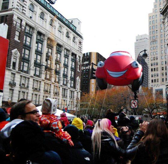 Kyle the Convertible Sports Car Parade Balloon