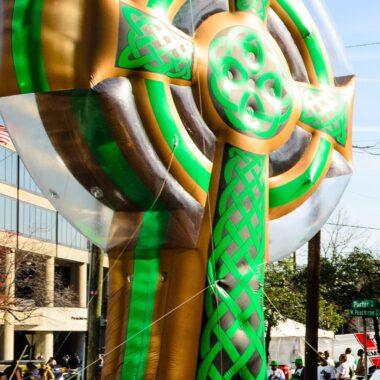 Celtic Cross Parade Balloon