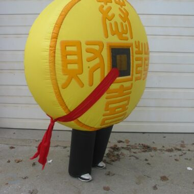 Chinese Coin Inflatable Costume