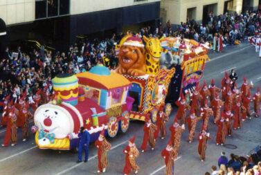 Circus Train Float