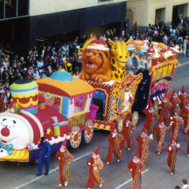 Circus Train Float