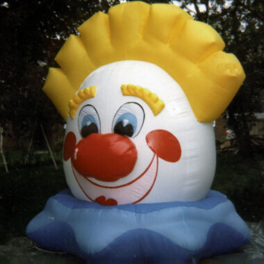 Clown Head Parade Balloon, 10'