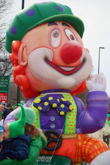 Clown Krazy Kart Mini-Float