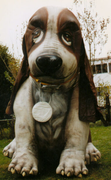 Bassett Hound (Hush Puppy) Parade Balloon, 12'