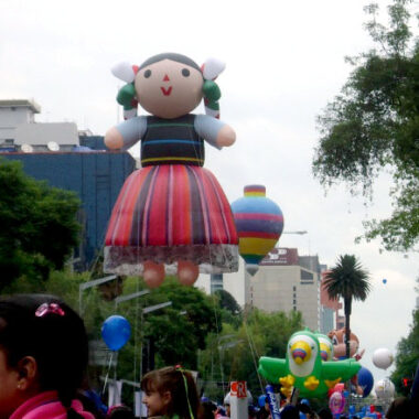 Mexican Doll Parade Balloon