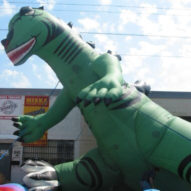 Dinosaur (Green) Parade Balloon, 20'
