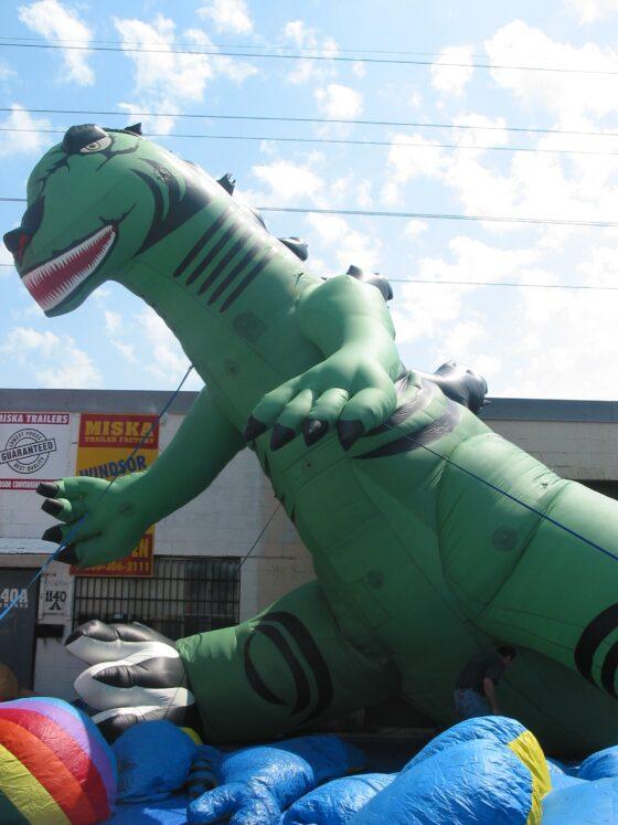 Dinosaur (Green) Parade Balloon, 20'